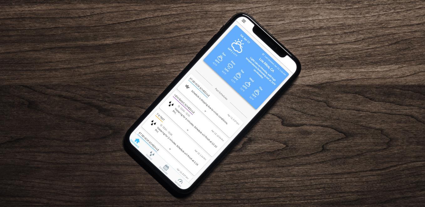 Spruce App Dashboard